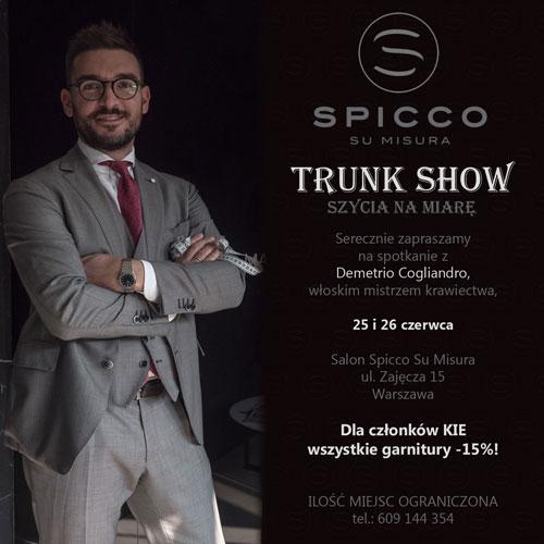 Trunk Show SPICCO SU MISURA